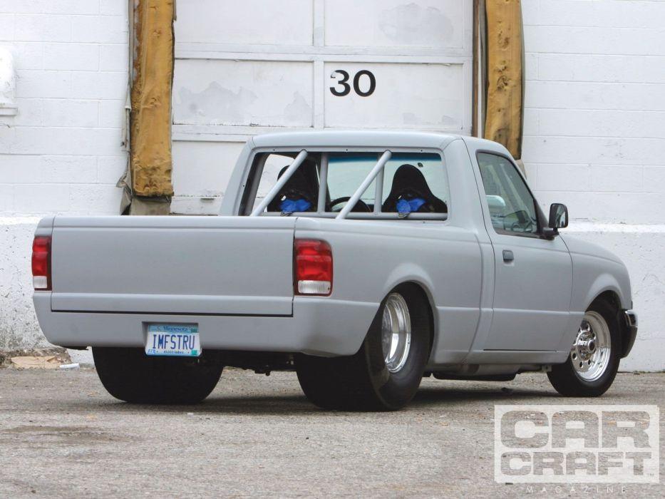 1998 Ford Ranger pickup hot rod rods custom wallpaper