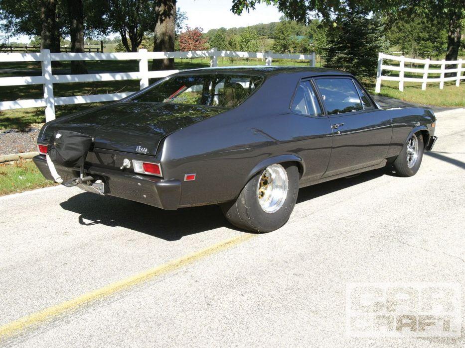 1969 Chevrolet Nova muscle hot rod rods custom classic wallpaper