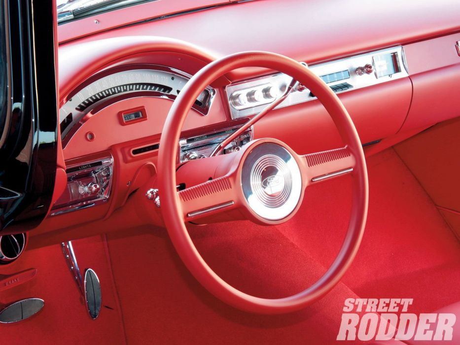 1957 Ford Ranch Wagon stationwagon hot rod rods custom classic wallpaper