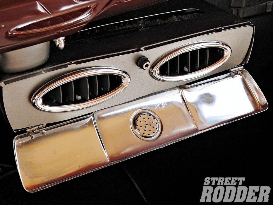 1958 Chevrolet Impala custom hot rod rods retro wallpaper