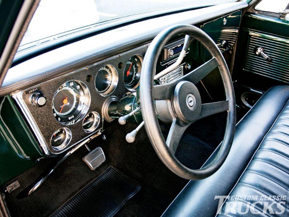 1967 Chevrolet C-10 Pickup hot rod rods custom c10 wallpaper