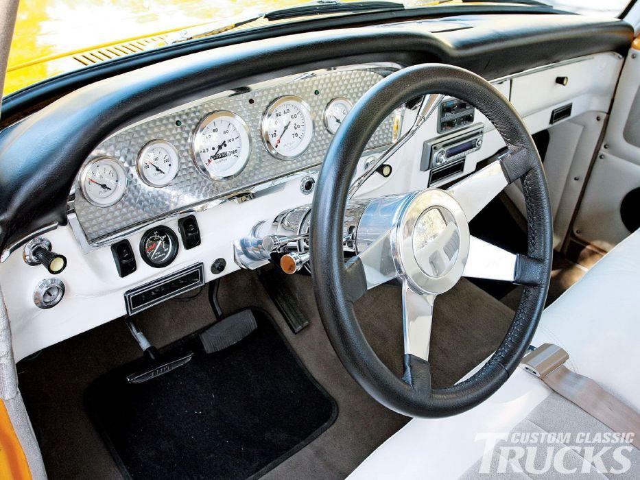 1966 Ford F-100 Pickup hot rod rods custom classic f100 wallpaper