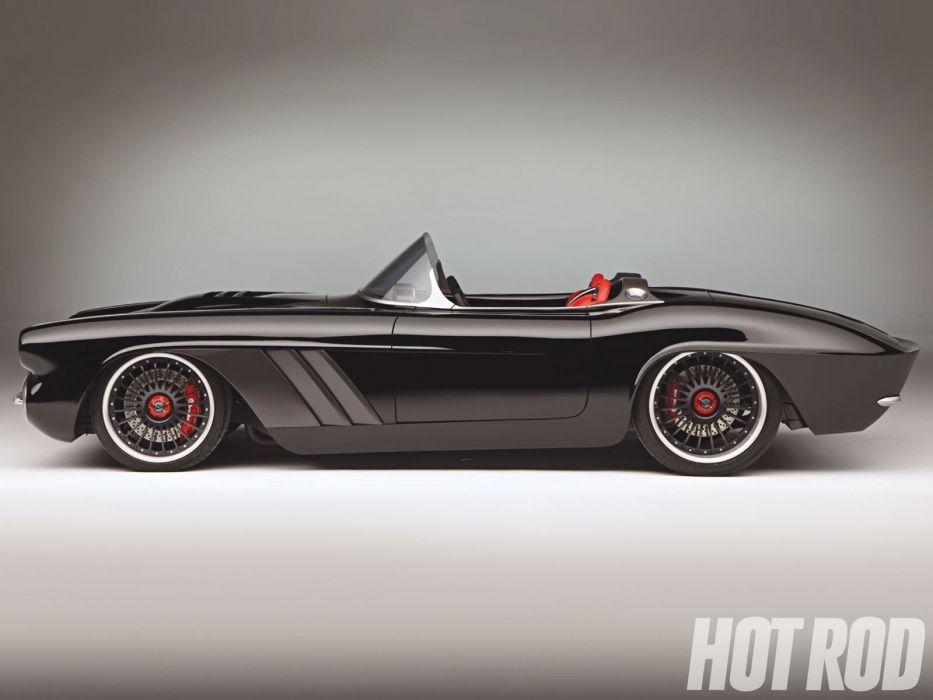 1962 Chevrolet Corvette C1RS supercar hot rod rods muscle custom wallpaper