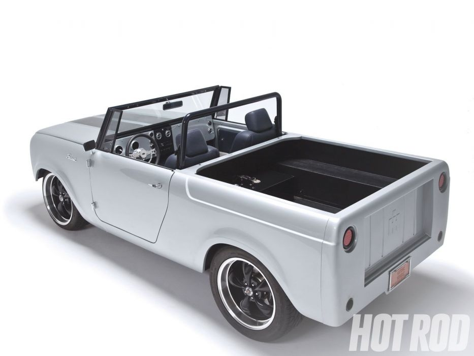 1962 International Scout pickup suv custom hot rod rods classic wallpaper