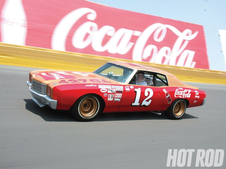 1972 Chevrolet Monte Carlo nascar hot rod rods muscle race racing classic wallpaper