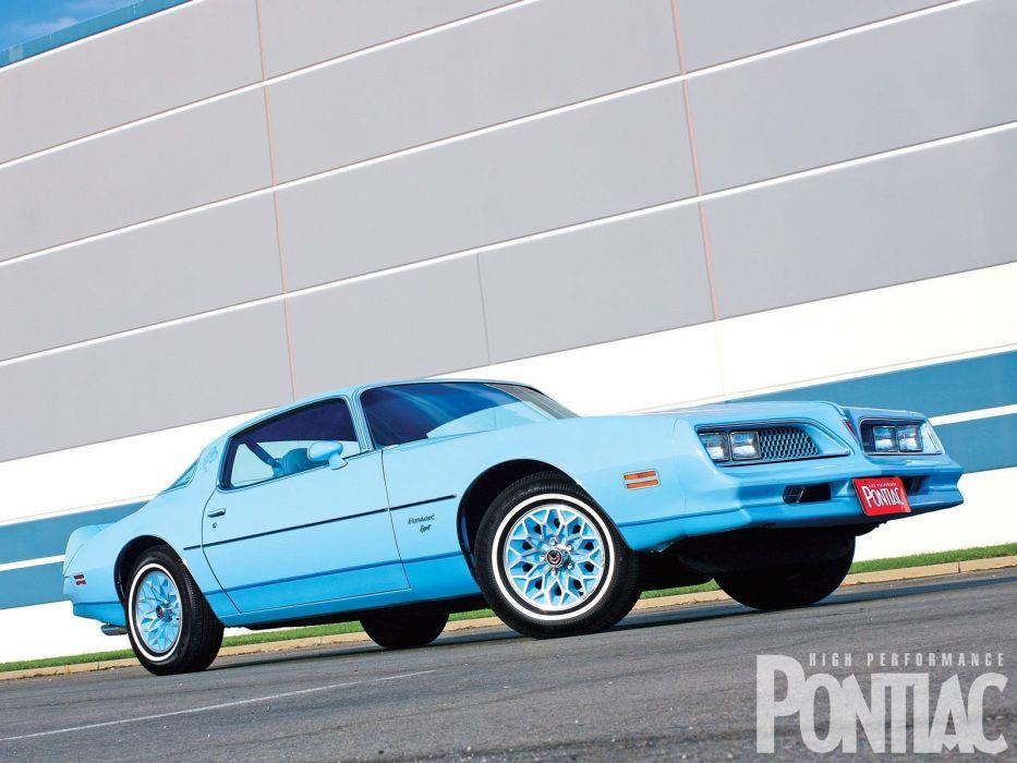1976 Pontiac Firebird muscle classic wallpaper
