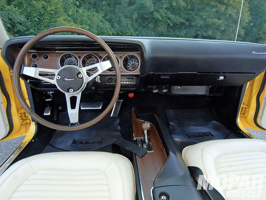 1970 Plymouth Cuda mopar classic muscle barracuda wallpaper