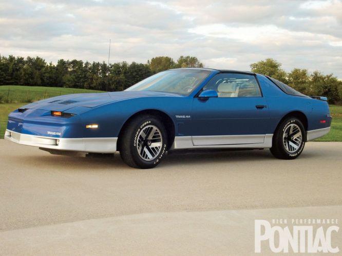 1986 Pontiac Trans-Am muscle trans wallpaper