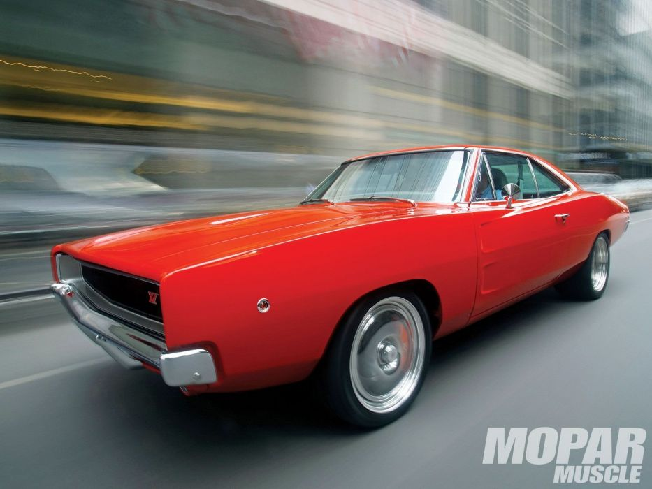 1968 Dodge Charger mopar muscle classic hot rod rods wallpaper