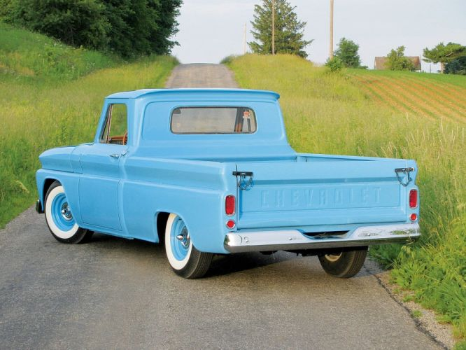 1966 Chevrolet C-10 Pickup custom hot rod rods classic c10 wallpaper
