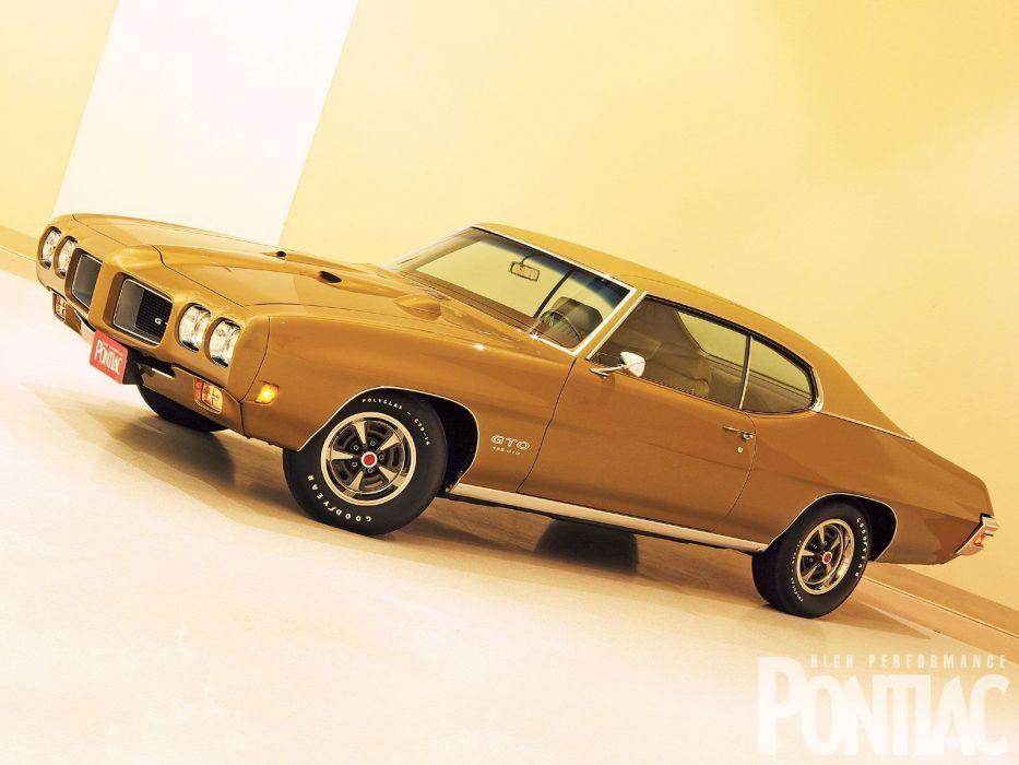 1970 Pontiac GTO 455 muscle classic wallpaper