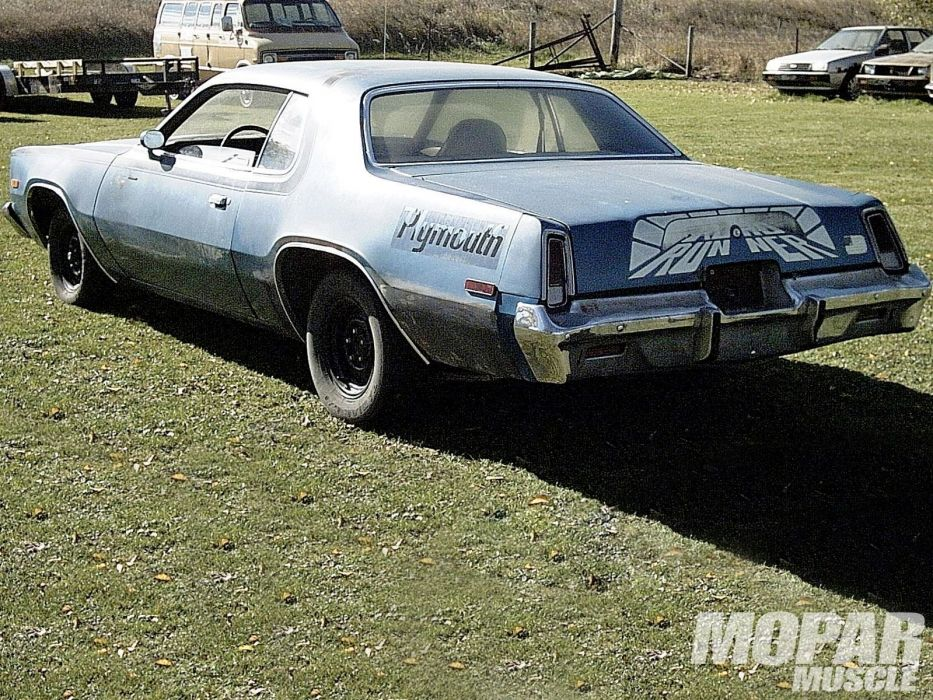 1975 Plymouth Road Runner muscle classic mopar wallpaper