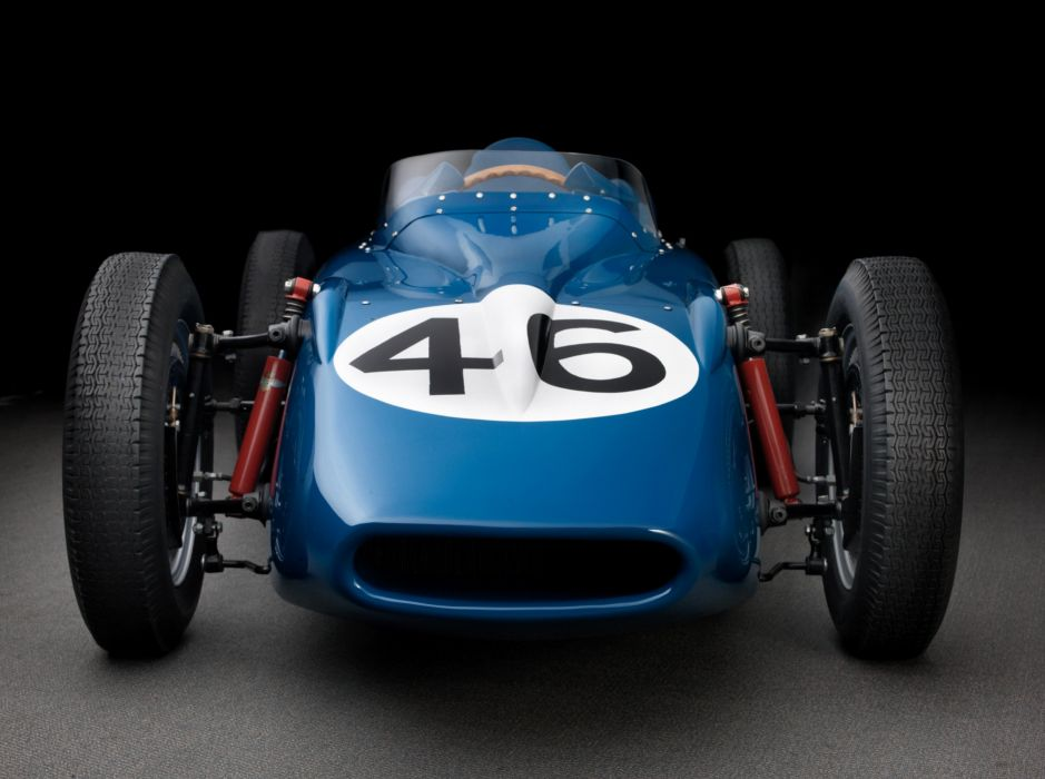 1958 Behra Porsche 718 Monoposto F-2 formula race racing retro wallpaper