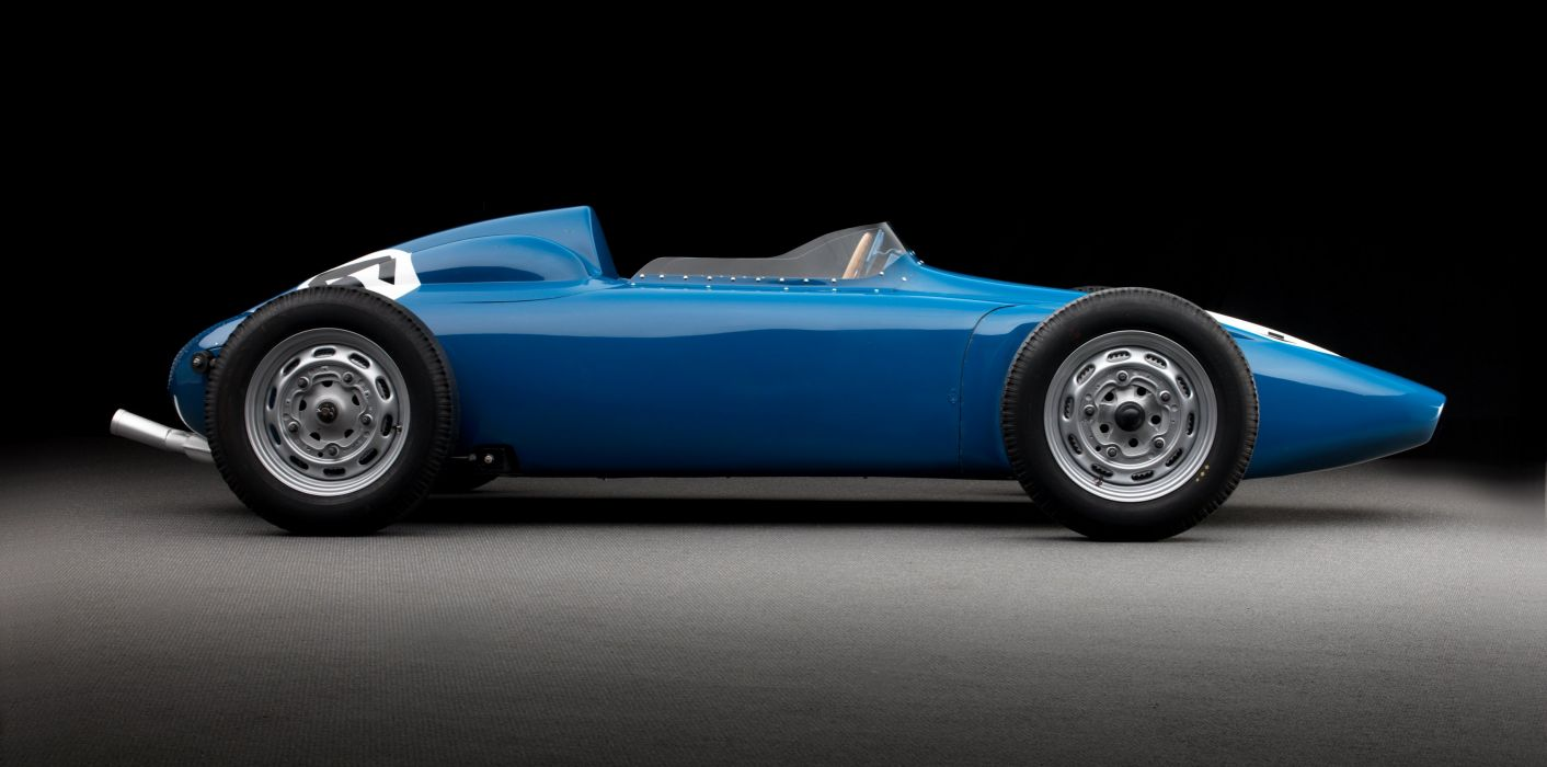 1958 Behra Porsche 718 Monoposto F-2 formula race racing retro wallpaper