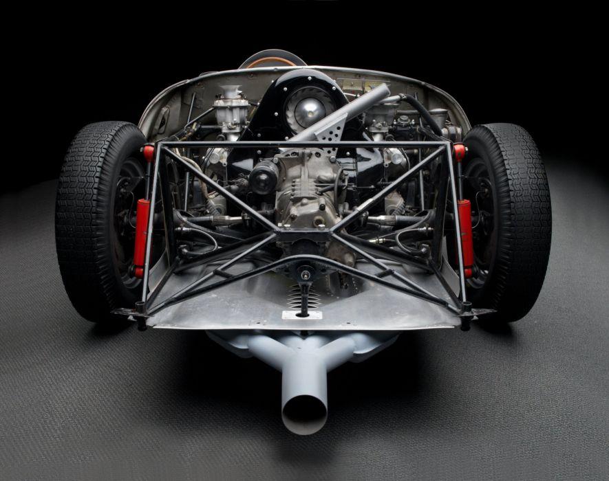 1956 Porsche 550A Spyder race racing retro rally wallpaper