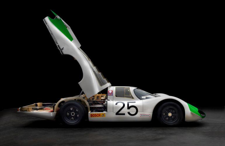 1968 Porsche 908 Langheck Coupe race racing lemans le-mans rally classic wallpaper