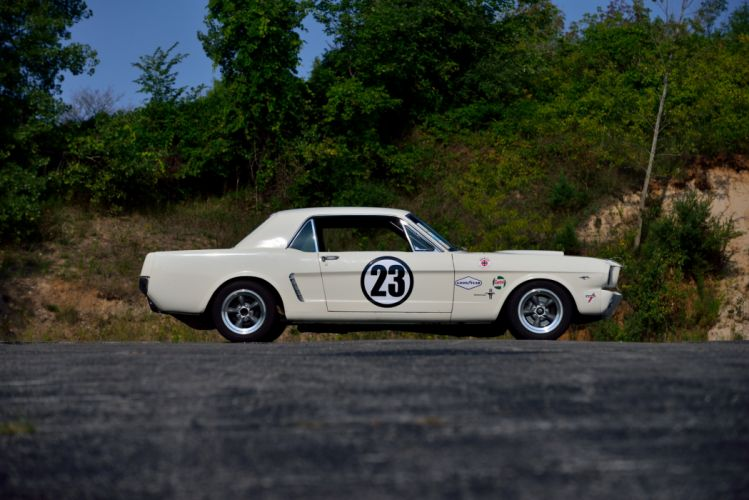 1965 Ford Mustang Hardtop Group-2 Race 65A racing muscle rally classic hot rod rods fia wallpaper
