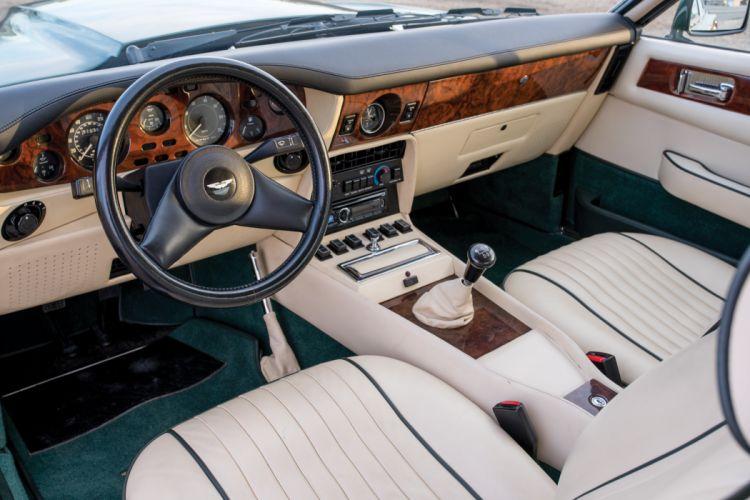 1987 Aston Martin V-8 Vantage X-Pack supercar wallpaper