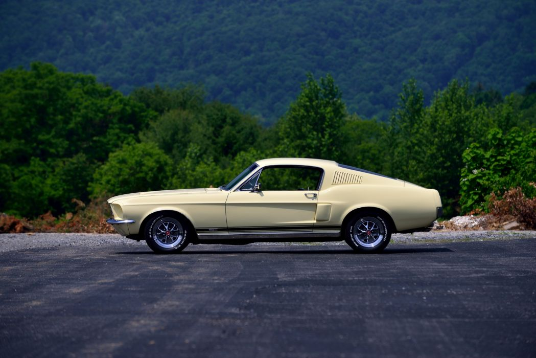 1967 Ford Mustang GT-A Fastback muscle classic wallpaper