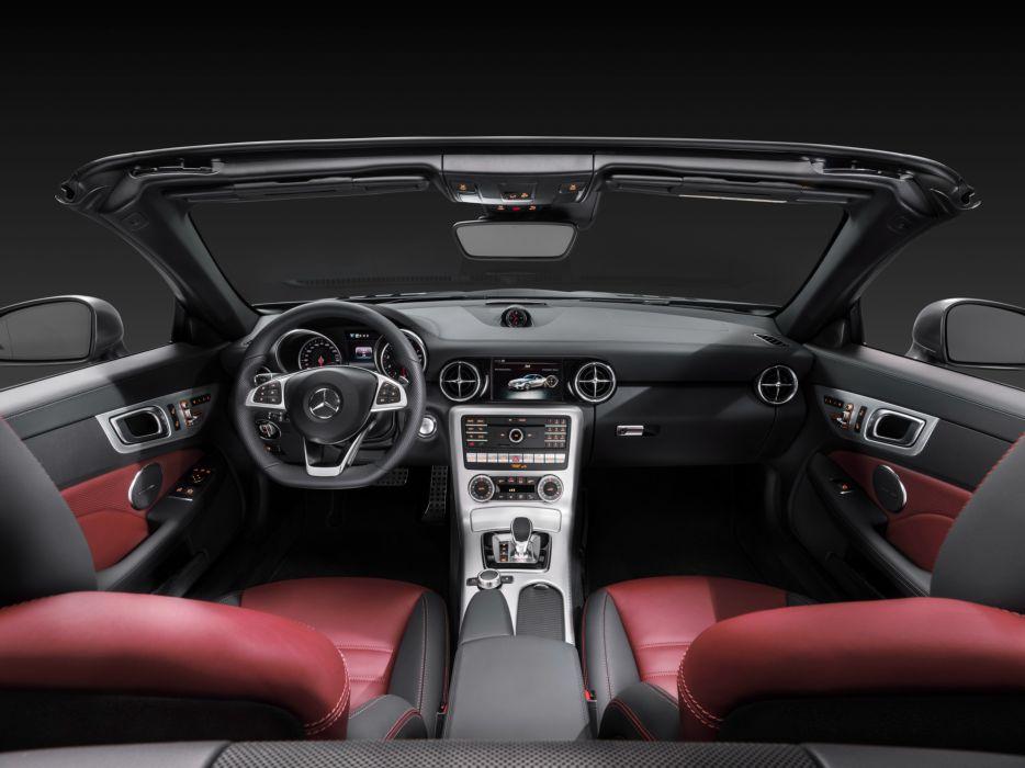 2016 Mercedes Benz SLC 300 AMG R172 roadster wallpaper