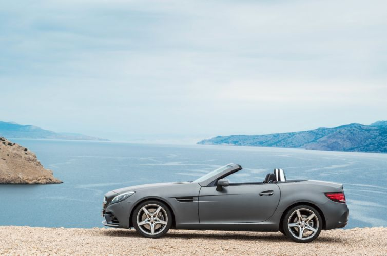 2016 Mercedes Benz SLC 300 AMG R172 roadster wallpaper