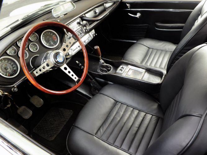 1967-70 Maserati Mistral 4000 Coupe classic supercar wallpaper