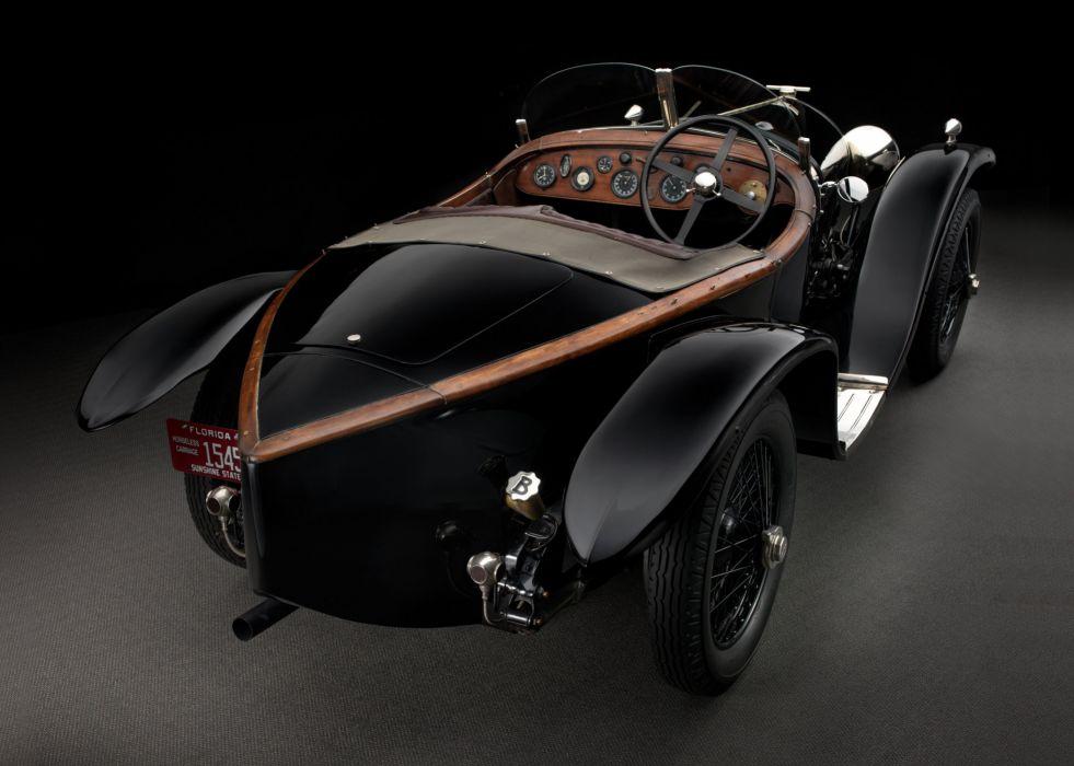 1925-27 Bentley 3-Litre Supersports Brookland supercar race racing retro vintage rally wallpaper
