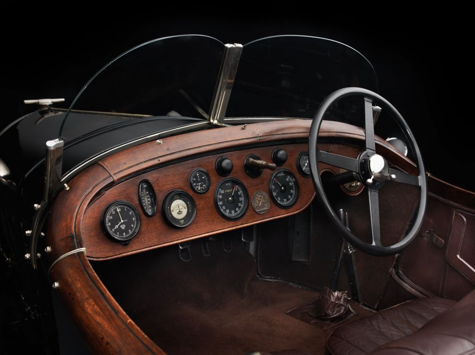 1925-27 Bentley 3-Litre Supersports Brookland supercar race racing retro vintage rally wallpaper
