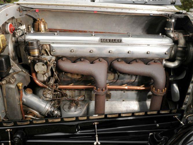 1927-30 Bentley 6 5Litre Sports Tourer Vanden Plas luxury retro vintage wallpaper