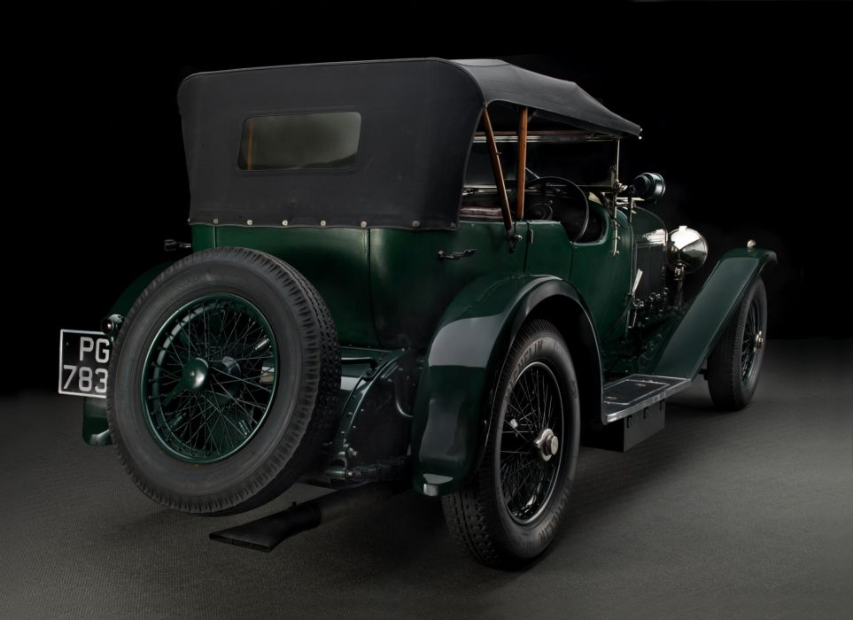 1927-30 Bentley 6 5Litre Sports Tourer Vanden Plas luxury retro vintage wallpaper