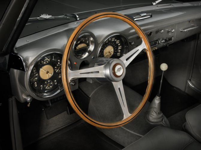 1953 Cunningham C-3 Continental Coupe Vignale retro luxury supercar wallpaper