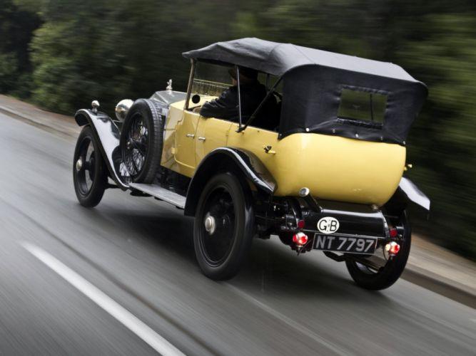 1927 Vauxhall OE-Type 30-98 Velox Tourer luxury retro vintage wallpaper