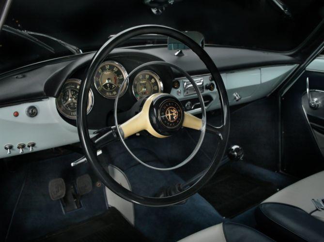 1958 Alfa Romeo Giulietta Sprint Veloce 750-101 Bertone wallpaper