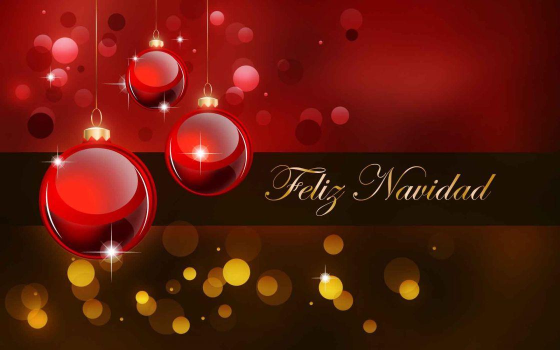 feliz navidad bolas adornos wallpaper