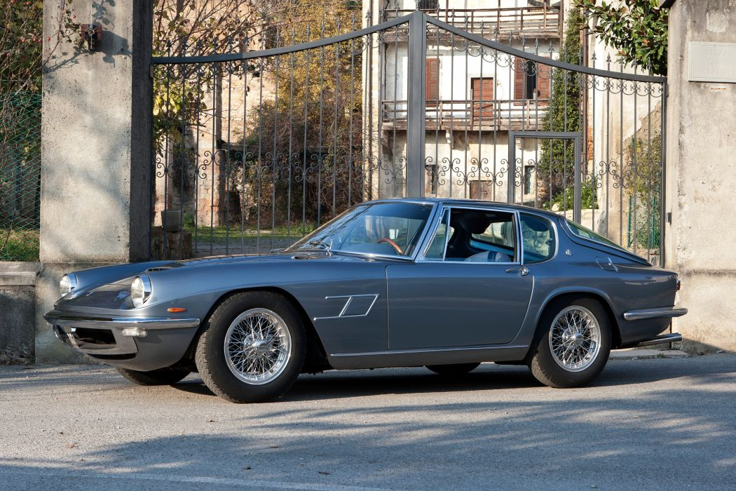 1964-67 Maserati Mistral 3700 Coupe AM10 classic supercar wallpaper