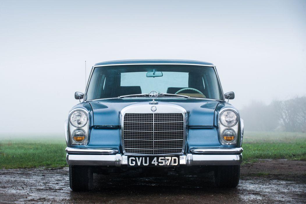 1964-81 Mercedes Benz 600 US-spec W100 luxury classic wallpaper