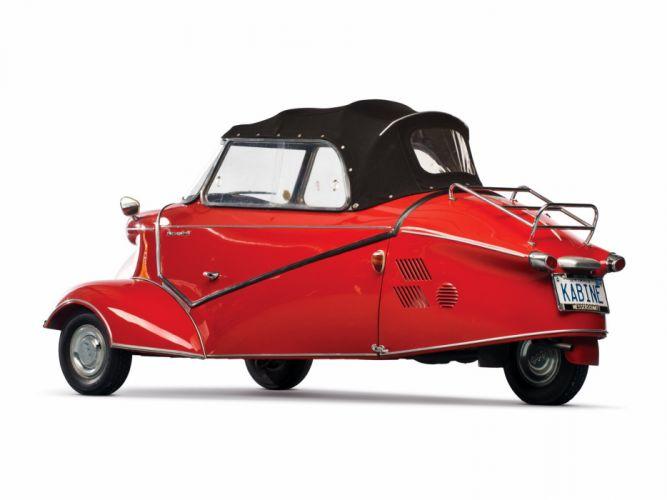 1952-64 Messerschmitt KR200 Cabriolet classic compact bike motorbike motorcycle wallpaper