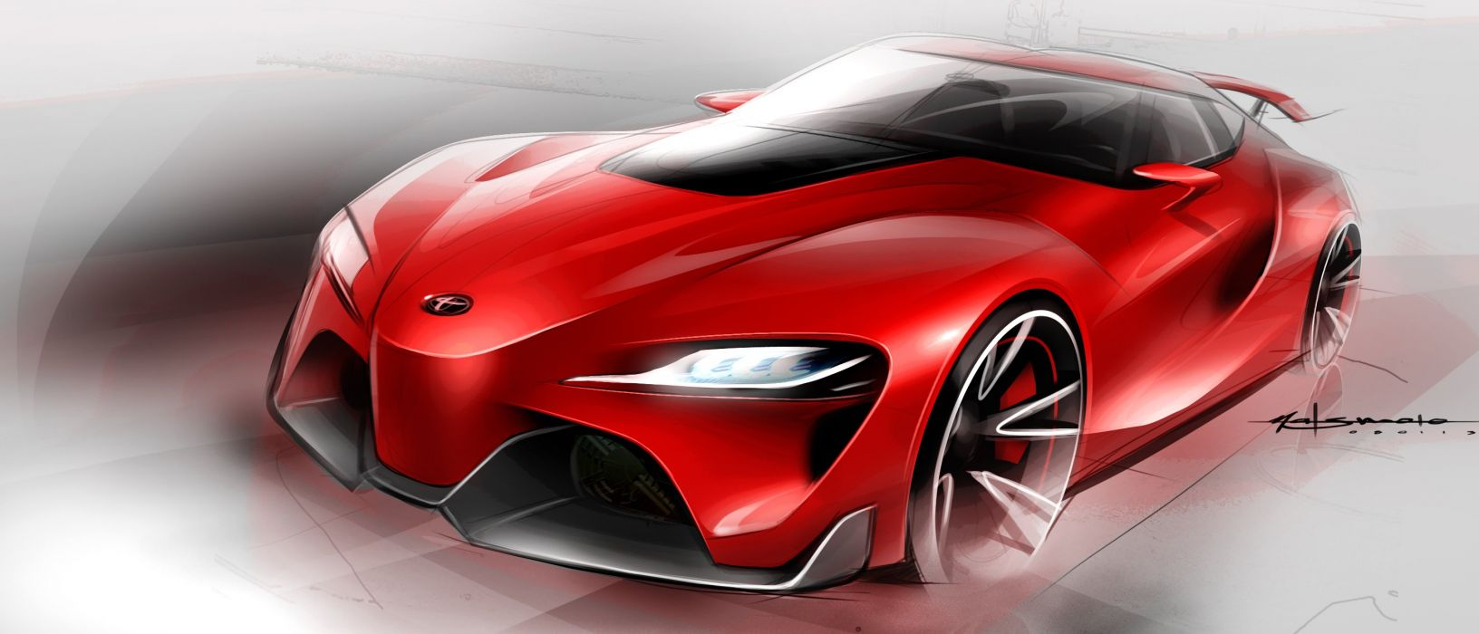 2014 Toyota FT-1 Concept supercar concept wallpaper