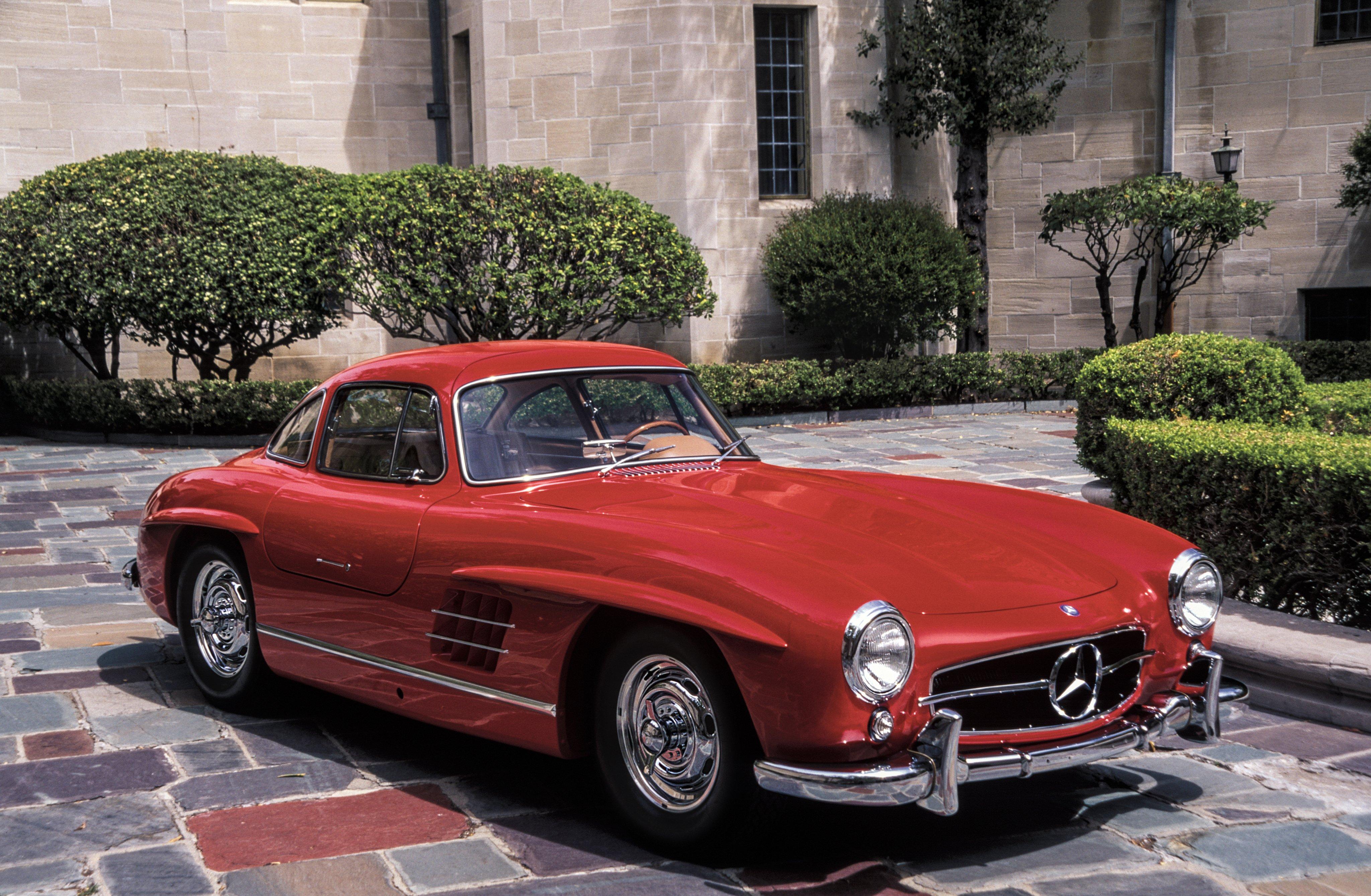 1954-57 Mercedes Benz 300SL W198 300 gullwing supercar ...