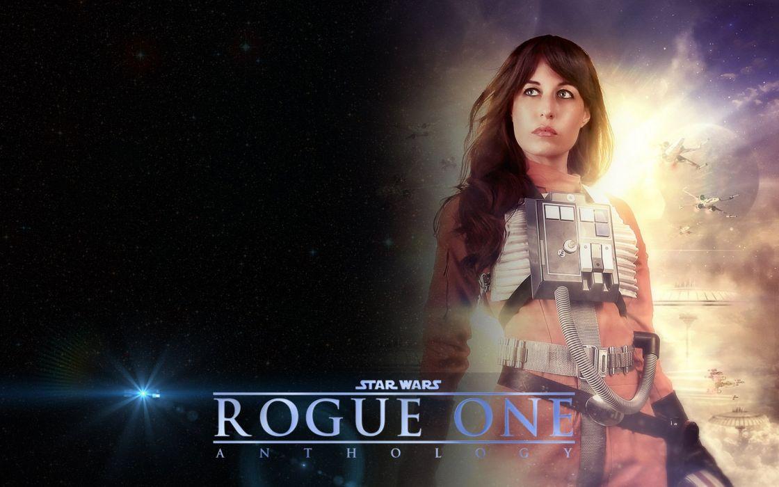 Rogue One Star Wars Story Disney Futuristic Sci Fi Opera Sction Fighting Poster Wallpaper 1920x1200 863858 Wallpaperup