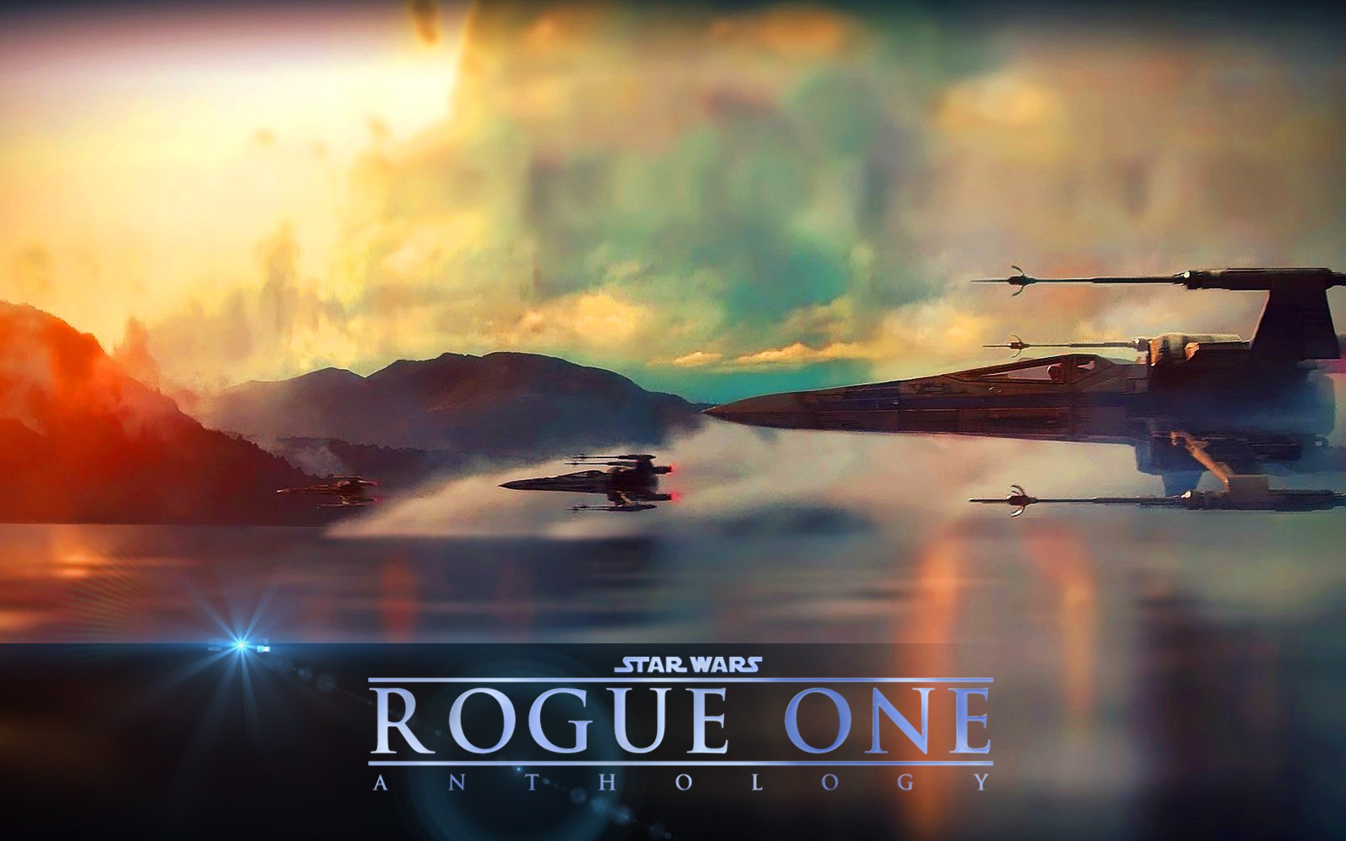 Another STAR WARS Rogue One Wallpaper... Scene from Force ...