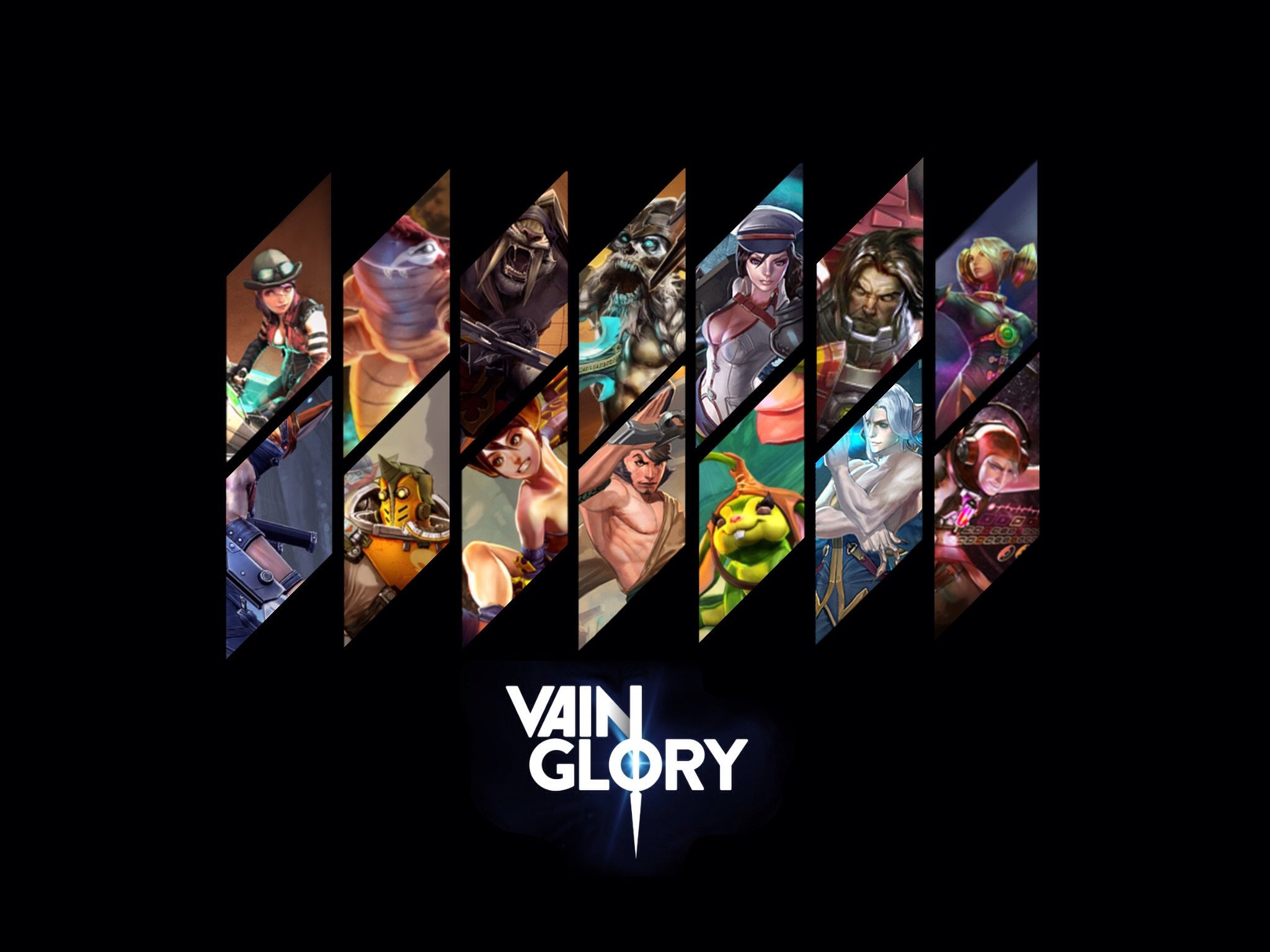 Wallpaper iphone vainglory - Vainglory Moba Online Fighting Fantasy 1vainglory Warrior Action Wallpaper