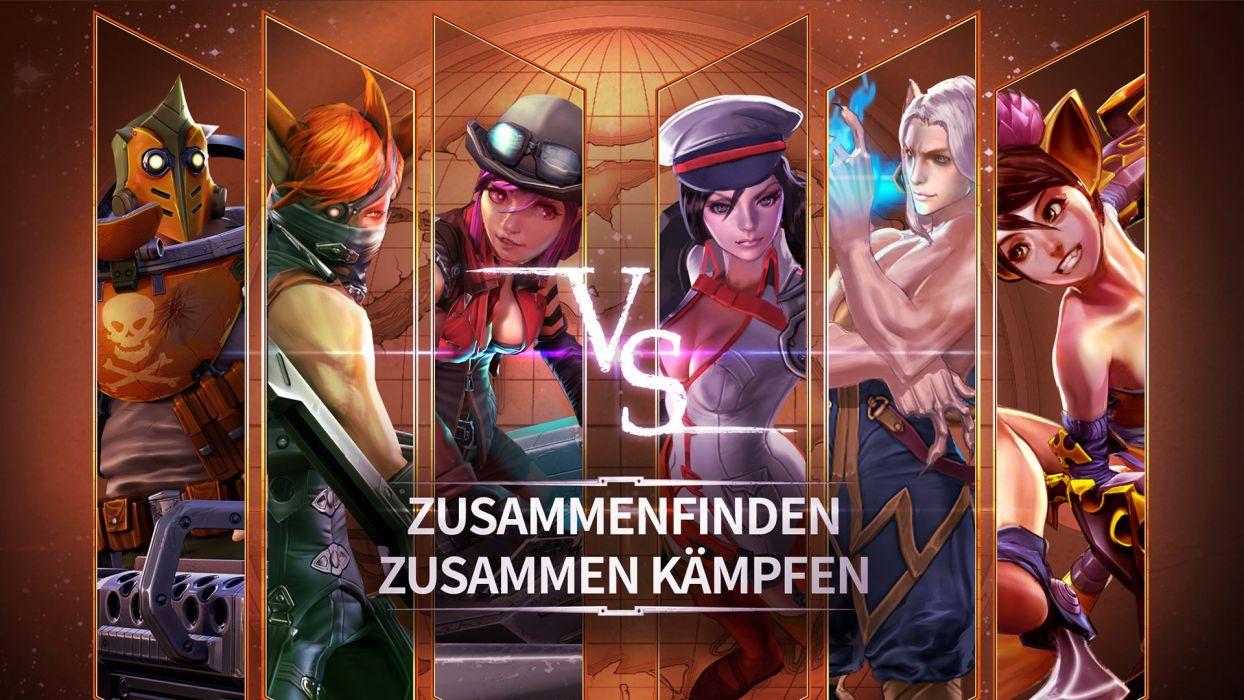VAINGLORY moba online fighting fantasy 1vainglory warrior action wallpaper