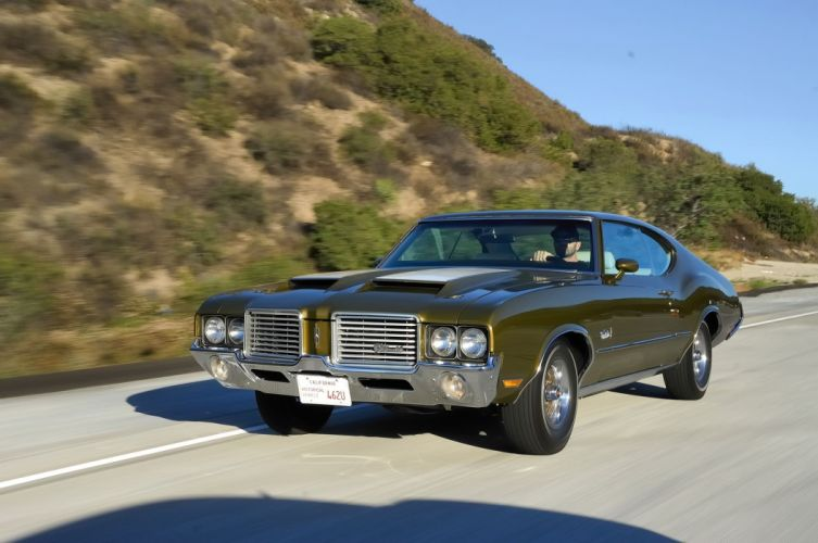 1972 Oldsmobile Cutlass S muscle classic wallpaper