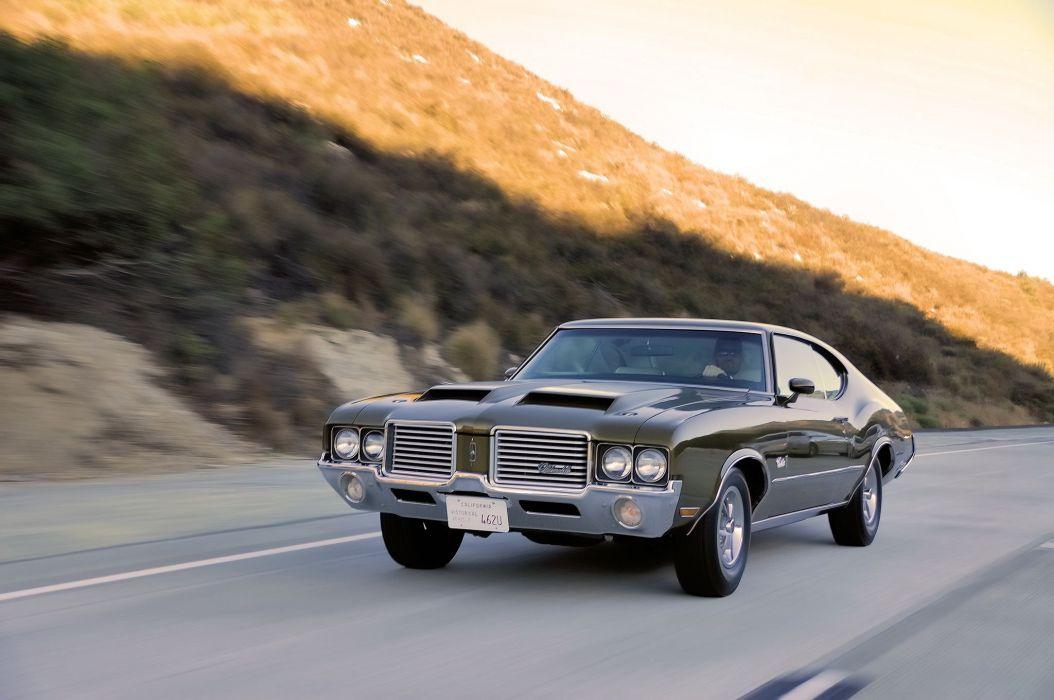 1972 Oldsmobile Cutlass S muscle classic wallpaper