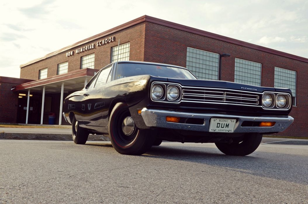 1969 Plymouth Road Runner mopar muscle classic wallpaper