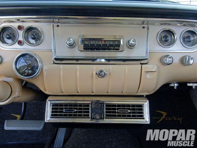 1956 Plymouth Fury mopar retro custom hot rod rods wallpaper