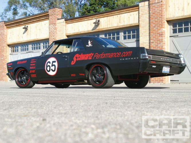 1965 Pontiac Tempest muscle classic race racing hot rod rods custom wallpaper