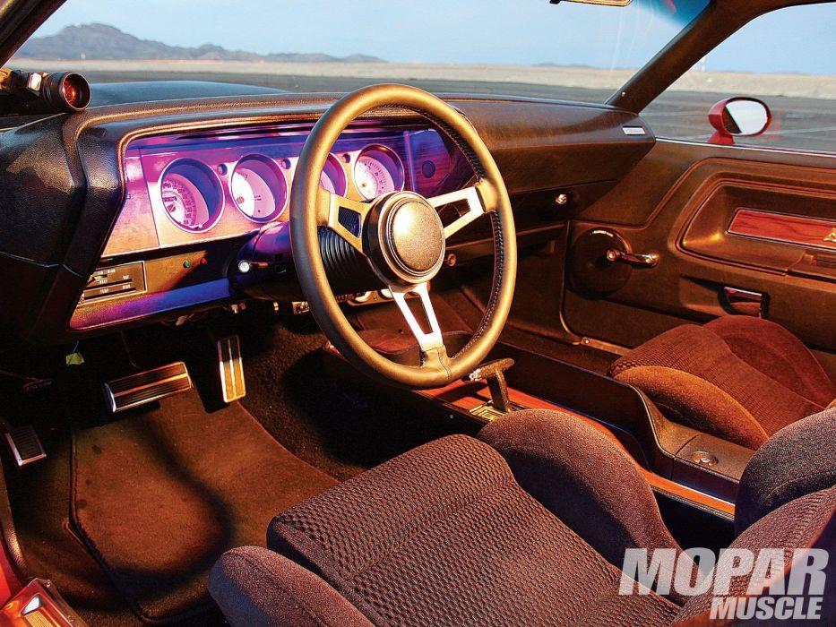 1972 Dodge Challenger mopar classic muscle hot rod rods custom wallpaper