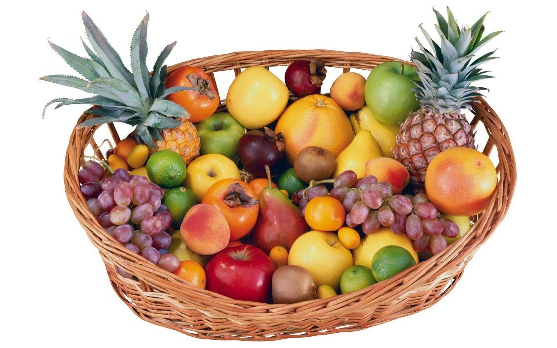 cesta fruta variedad wallpaper